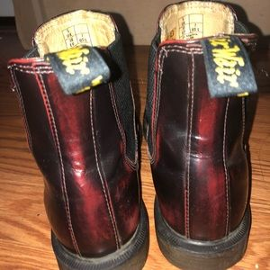 DR MARTENS FLORA BOOT CHERRY RED US SIZE 7